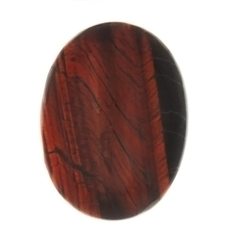 GEMSTONE TIGER'S EYE RED CABOCHON