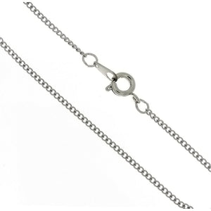 CHAIN NECKLACE CURB STAINLESS STEEL 1.6 MM X 18 IN (DOZ)