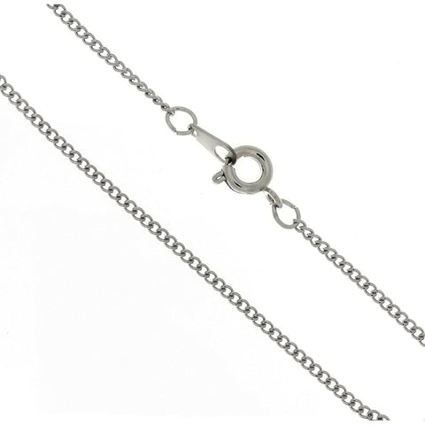 CHAIN NECKLACE CURB STAINLESS 1.6 MM X 18 IN (DOZ)