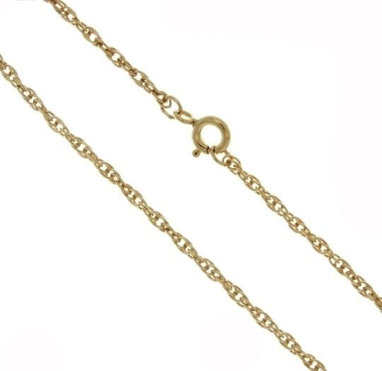 CHAIN NECKLACE ROPE GF 2 MM X 18 IN