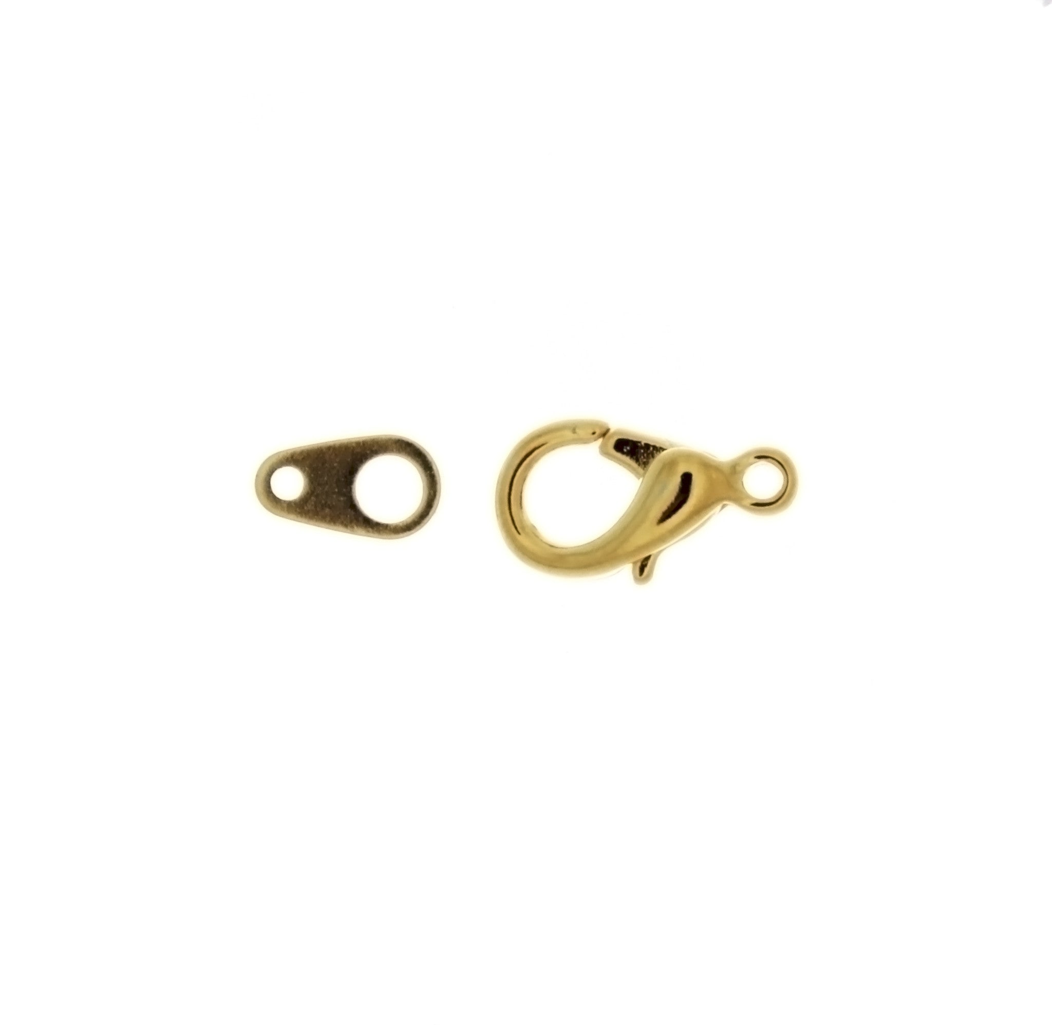 CLASP LOBSTER CLAW 14 MM FINDING (1 DOZ)