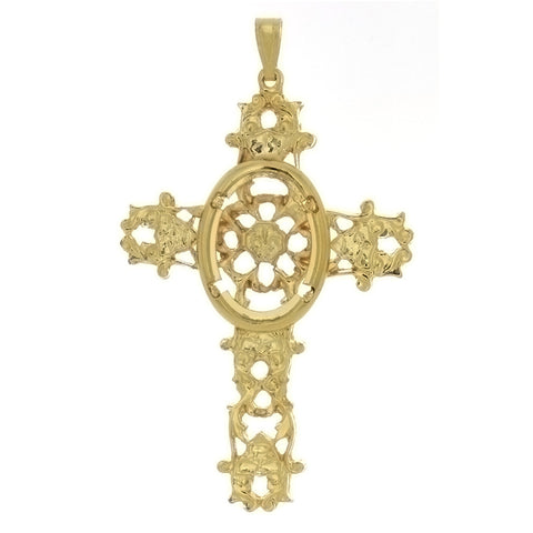 CABOCHON CROSS 18 X 25 MM PENDANT