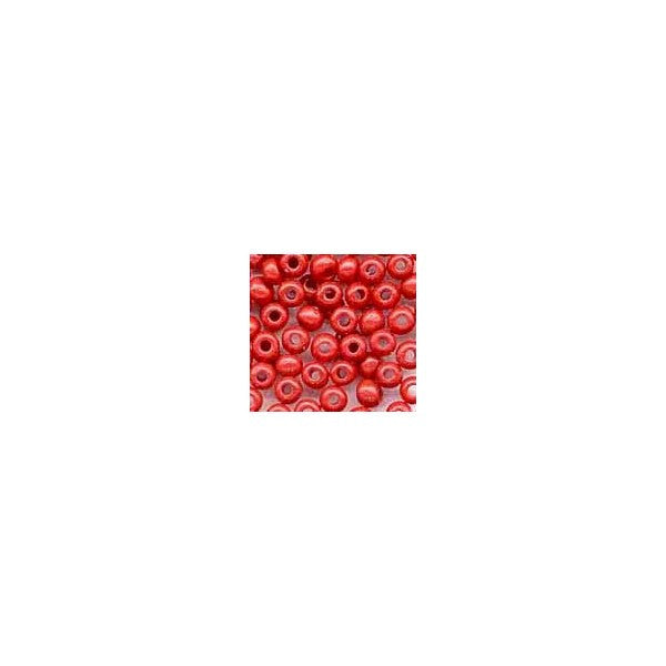 BEADS RED GLASS SEED