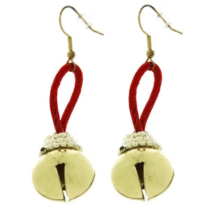 CHRISTMAS EARRINGS BELL NOVELTY