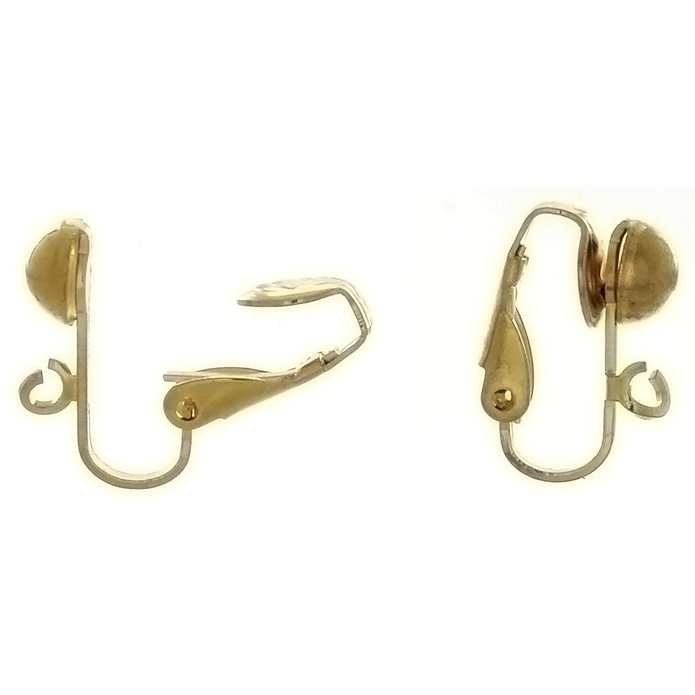 X CLIP-ON BALL EARRINGS (12 PAIR)