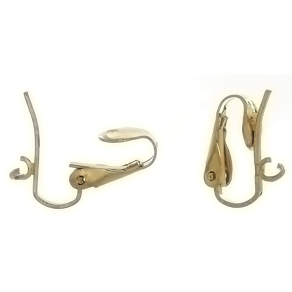 X CLIP-ON PEG EARRINGS (12 PAIR)