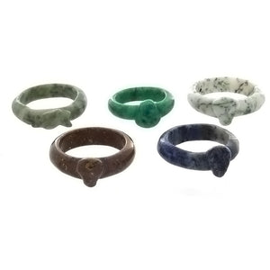 BAND GEMSTONE STYLE 5 MM RING (100)