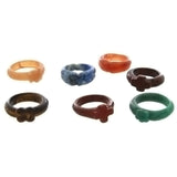 BAND GEMSTONE STYLE 5 MM RING (12)