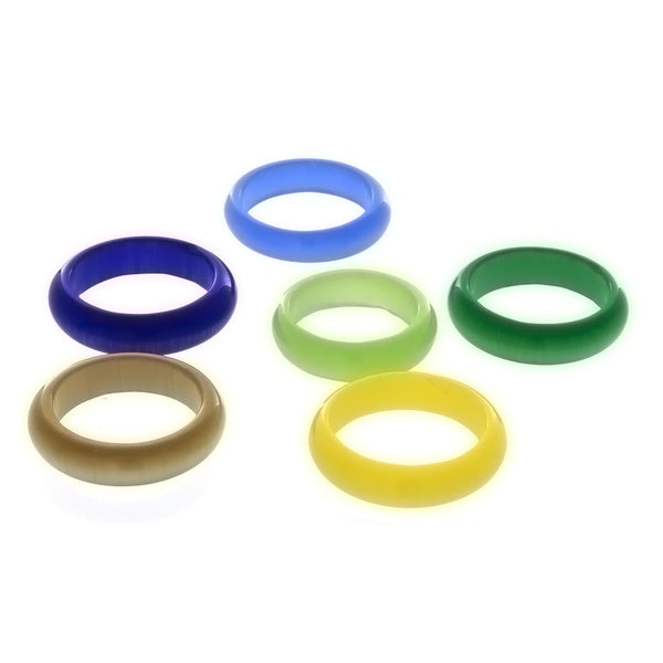 BAND DALE STONE 6 MM RING (12)