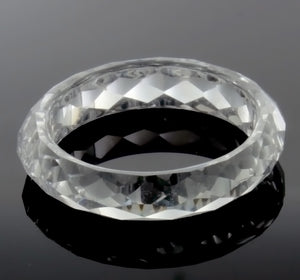 BAND CZ CLEAR SIZE 9 RING