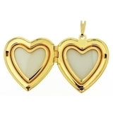 CABOCHON LOCKET HEART 13 X 18 MM PENDANT
