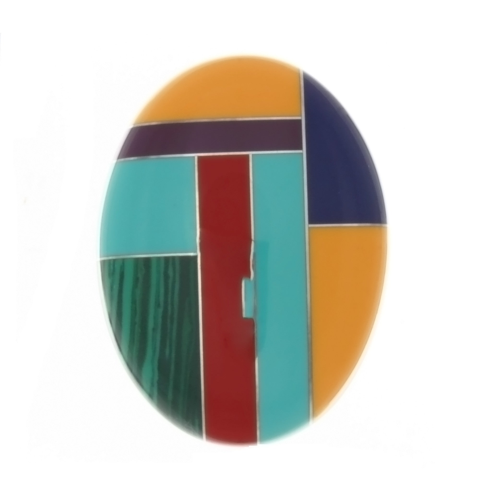 MOSAIC NUMBER 3 CABOCHONS