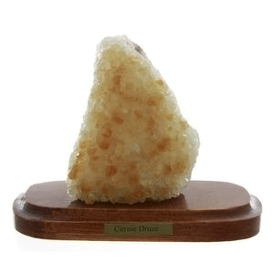 CRYSTAL GEMSTONE CITRINE & STAND
