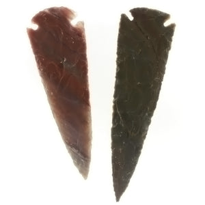 COLLECTIBLE NATURAL AGATE 5 IN ARROWHEAD