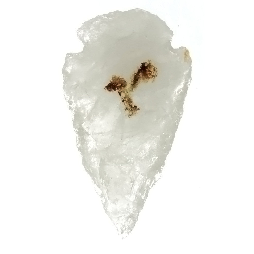 COLLECTIBLE CRYSTAL QUARTZ 32 MM ARROWHEAD