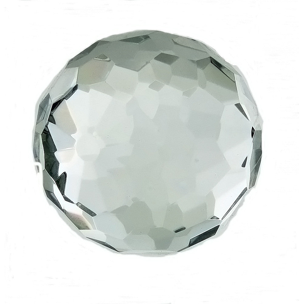 SPHERE GLASS FACETED 50 MM (W/ STAND)