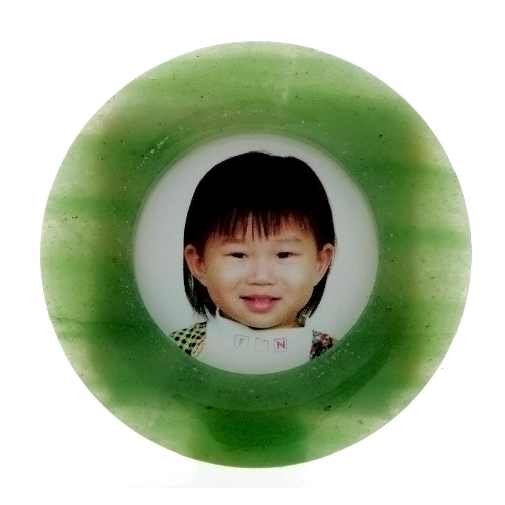 DESK PHOTO FRAME ROUND NOVELTY