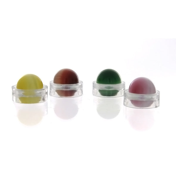 SPHERE GLASS DALE STONE 12 MM (W/ STAND)