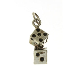 NOVELTY DICE 5 X 18 MM SS CHARM