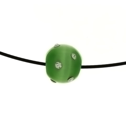 CORDED GLASS DALE STONE PANDORA NECKLACE