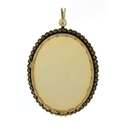 CABOCHON FRAMED BEAD 30 X 40 MM PENDANT