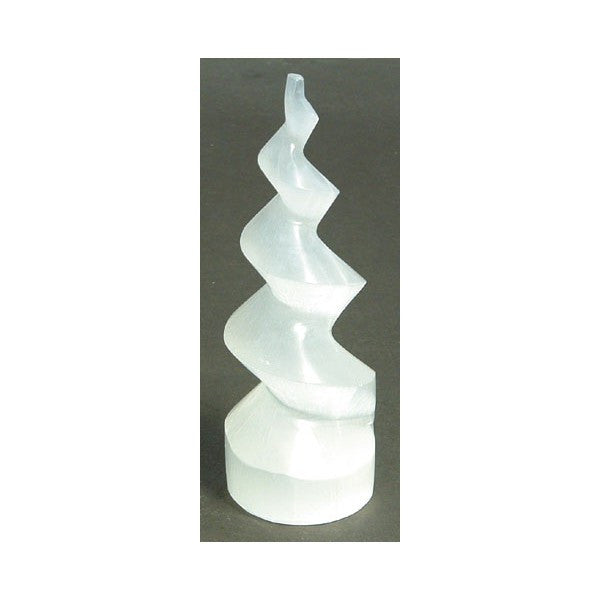 SELENITE SPIRAL TOWER