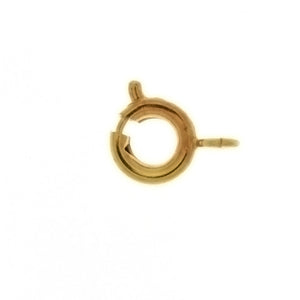 CLASP SPRING RING 4 MM FINDING (1 DOZ)