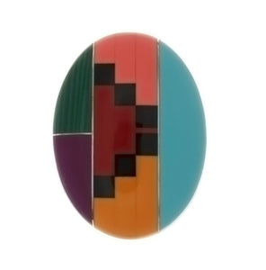 MOSAIC NUMBER 5 CABOCHONS
