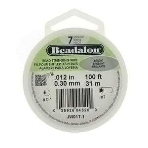 CORD TIGER TAIL BEADALON 0.30 MM 100 FT
