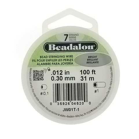 CORD TIGER TAIL BEADALON 3 MM 100 FT