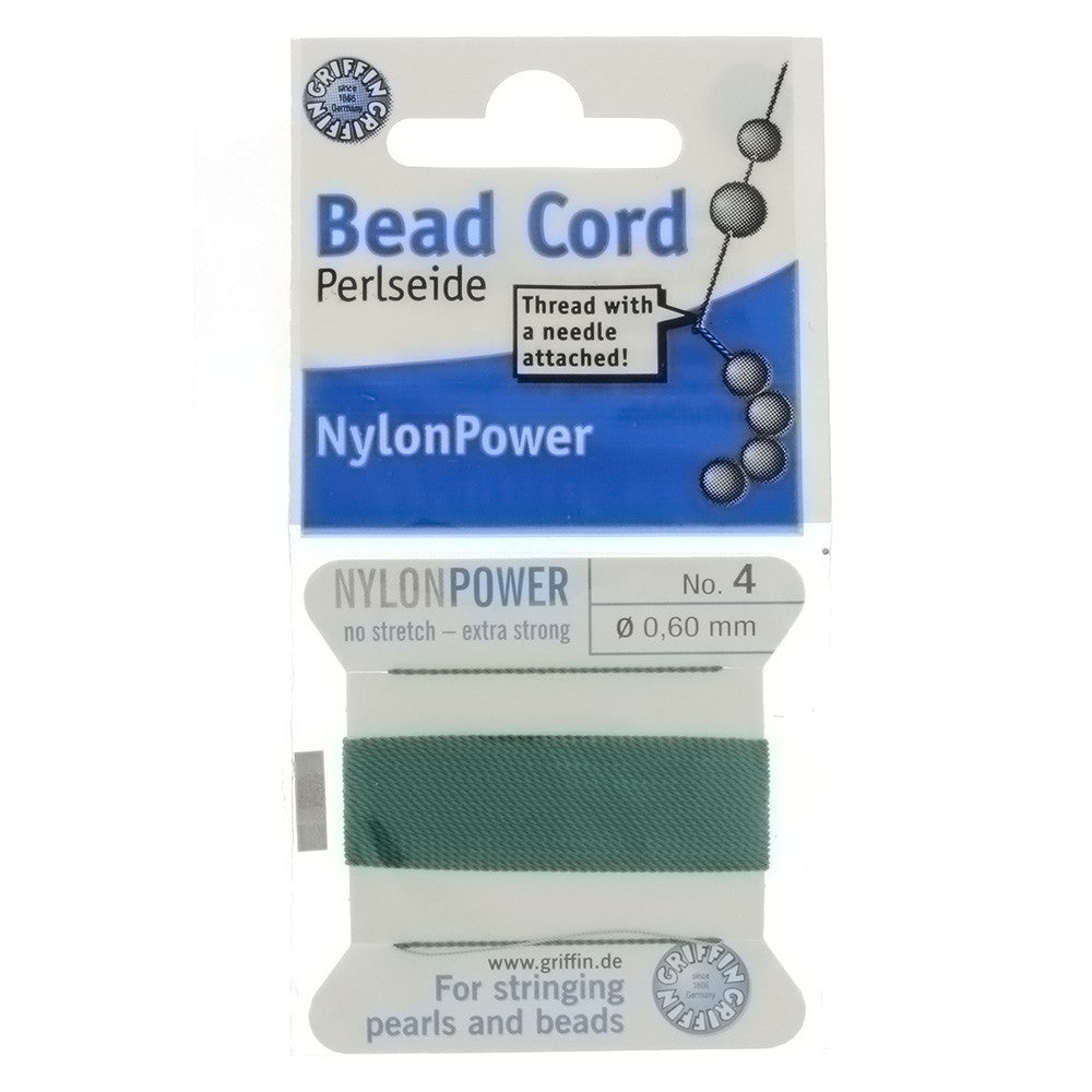 CORD NYLON GREEN NO 4 2 M