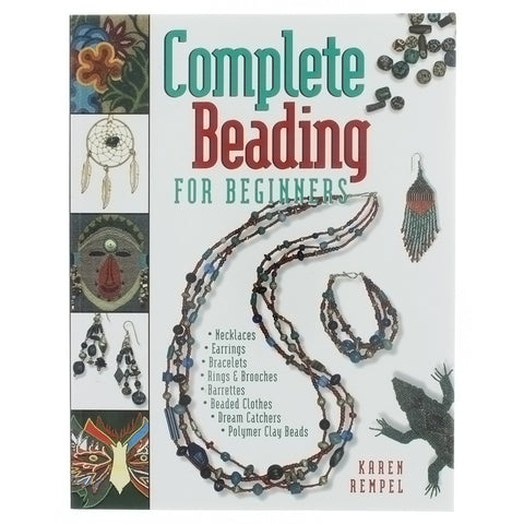 BOOK COMPLETE BEADING FOR BEGINNERS