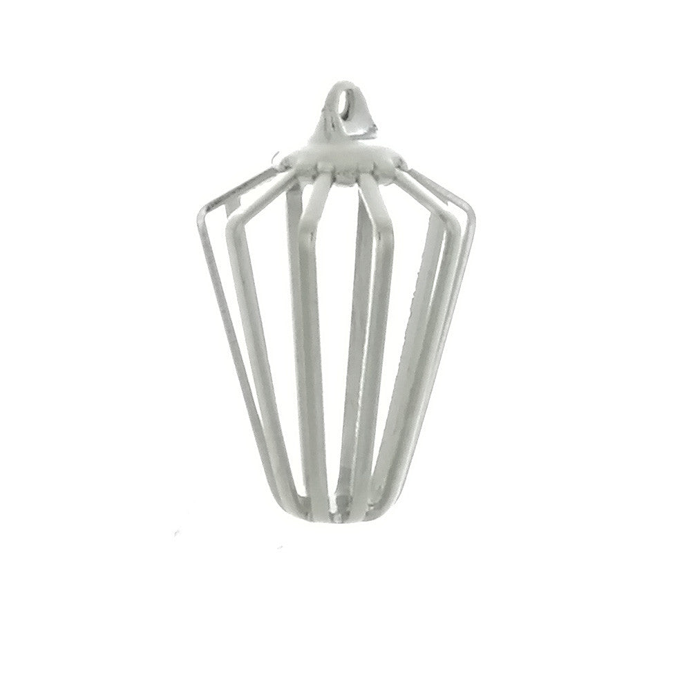X CAGE BIRD 6 X 11 X 17 MM PENDANT (12)