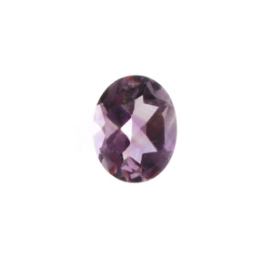 GEMSTONE AMETHYST LAVENDER OVAL FACETED GEMS