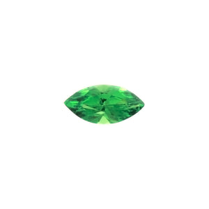 SIMULATED EMERALD MARQUIS FACETED GEMS