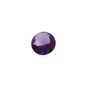CUBIC ZIRCONIA ALEXANDRITE ROUND FACETED GEMS