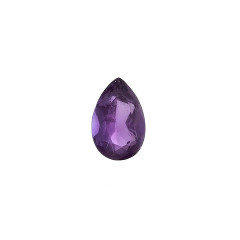CUBIC ZIRCONIA ALEXANDRITE TEARDROP FACETED GEMS