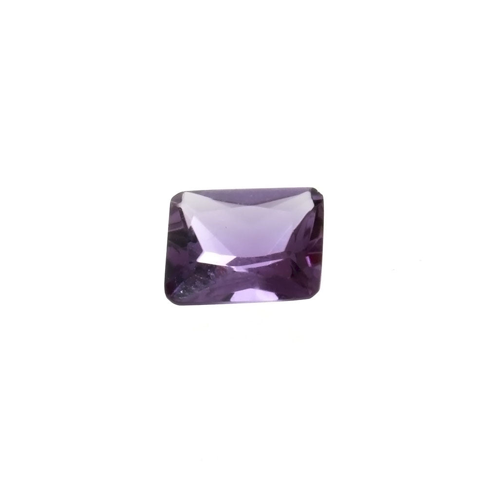 CUBIC ZIRCONIA  ALEXANDRITE RECTANGLE FACETED GEMS