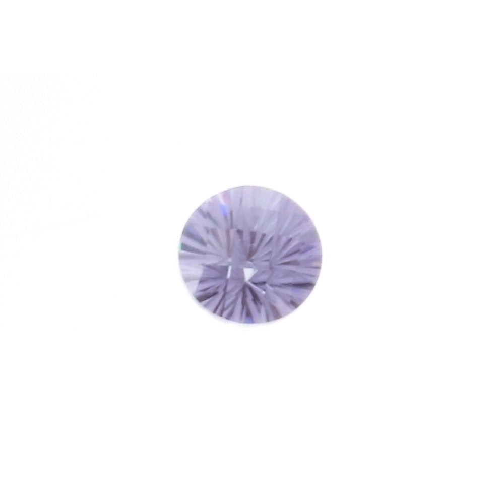 SIMULATED AMETHYST YAG ROUND FACETED GEMS