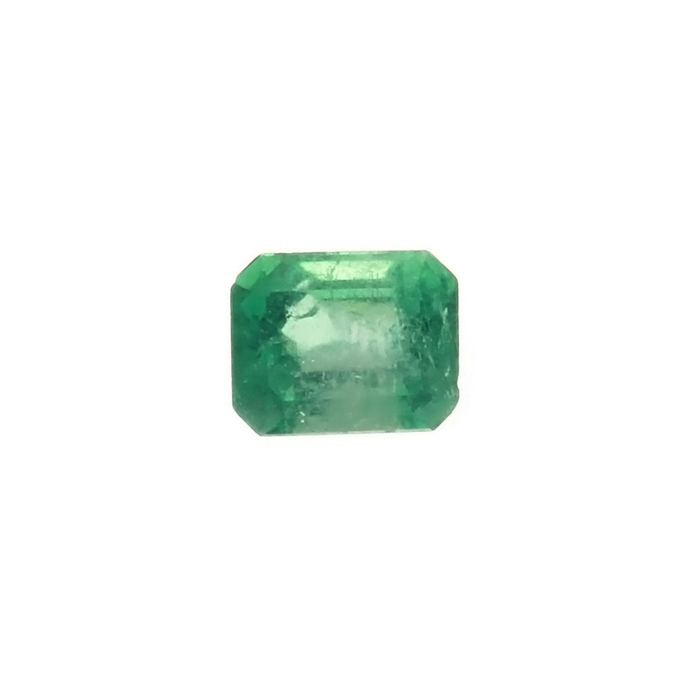 GEMSTONE EMERALD RECTANGLE FACETED GEMS