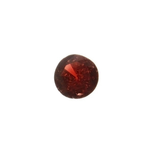 GEMSTONE GARNET RED ROUND FACETED GEMS