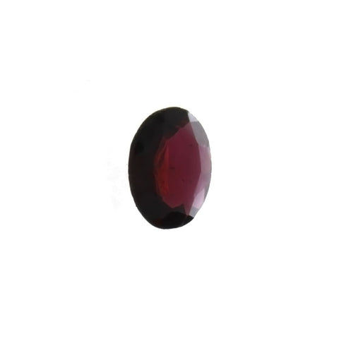GEMSTONE GARNET RED GRADE B OVAL FACETED GEMS