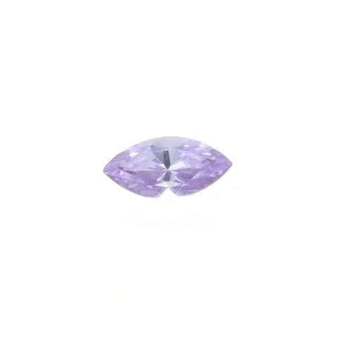 CUBIC ZIRCONIA AMETHYST LAVENDER MARQUIS FACETED GEMS