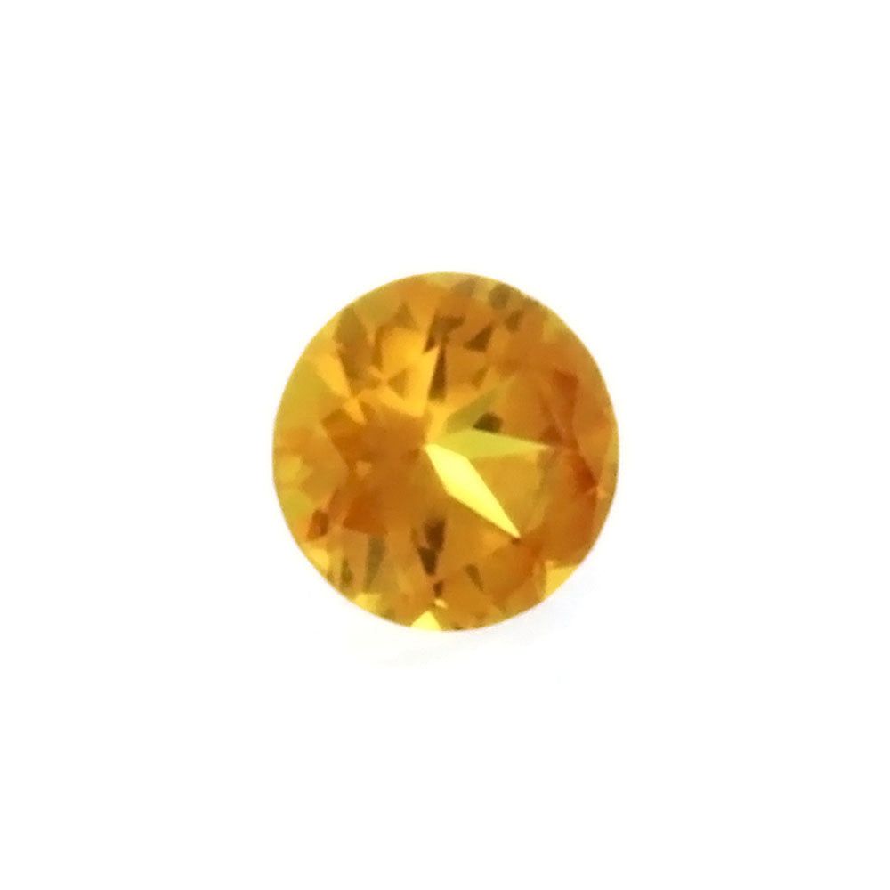 GEMSTONE TOPAZ GOLDEN ROUND FACETED GEMS