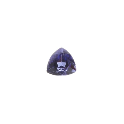 SIMULATED TANZANITE TRILLION FACETED GEMS