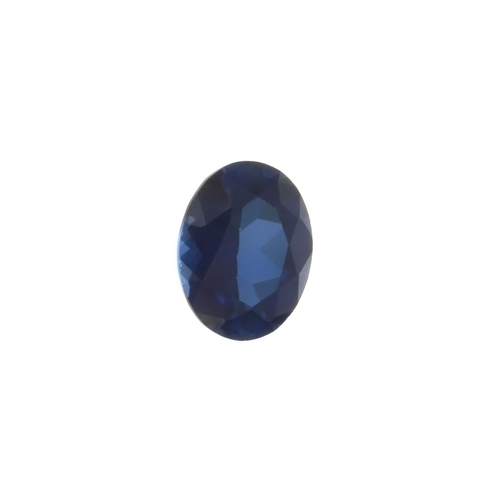 LAB GROWN SAPPHIRE BLUE OVAL FACETED GEMS