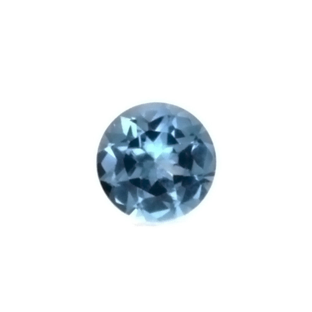 GEMSTONE AQUAMARINE ROUND FACETED GEMS