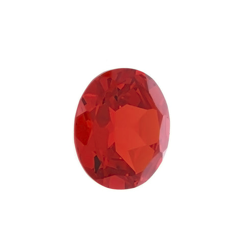 CUBIC ZIRCONIA GARNET RED OVAL GIANT FACETED GEMS