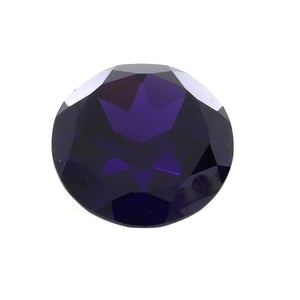 CUBIC ZIRCONIA ALEXANDRITE ROUND GIANT FACETED GEMS