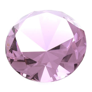 EASTERN CRYSTAL PINK ROUND GIANT FACETED GEMS